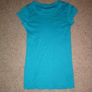 Women's Long Fitted Short Sleeved T-Shirt